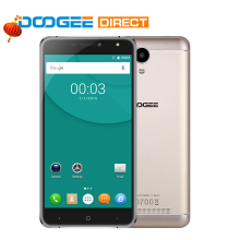 На Складе DOOGEE X7 6.0 «3 Г Смартфон Android 6.0 MTK6580 Quad Core 1 ГБ + 16 ГБ 3700 мАч VR 13.0MP Телефон
