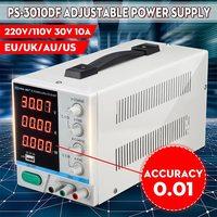 KKMOON PS 3010DF Adjustable LED Digital Display DC Power Supply Switching Regulated 5V 2A USB Power Supply 110V/220V 30V 10A