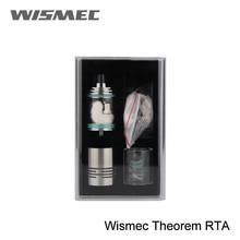 Горячая Акция оригинальная Wismec Theorem RTA атомайзер с регулируемым воздушным потоком управления Топ-заполнение атомайзера с зазубриной катушки с половинной ценой