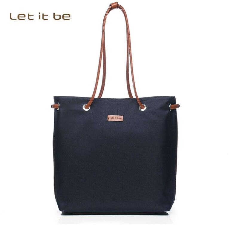 2016 women handbag oxford nylon tote women bag for girls messenger bag waterproof brand let it be designer crossbody bolsas 2016 brand 40l waterproof nylon women