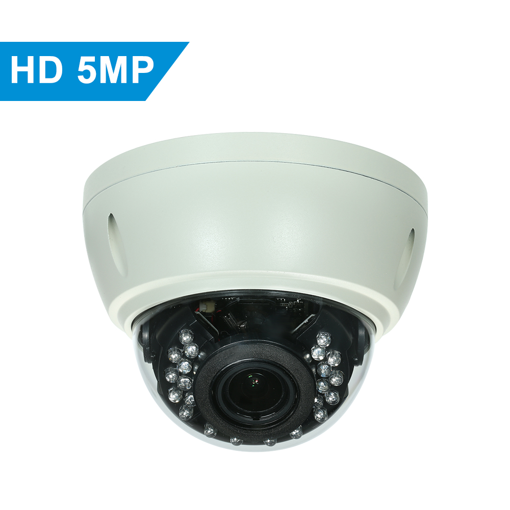 US $56 26 34% OFF 5MP AHD Dome POE IP Camera Explosion proof Support Phone  APP Control Motion Detection Night Vision for CCTV Home Security-in