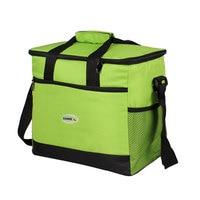 Sanne Brand Thicken Folding Fresh Cooler Bag Blue 16 L Lunch Bag For Foods Insulation Thermal Bag