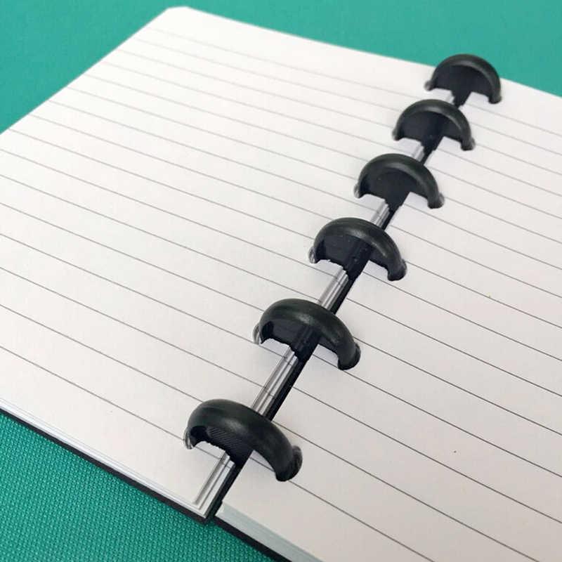 Boek Binding Ring Snoep Kleur T Paddestoel Gat Disc-binding Losse Disc Arc Binding Notebook Arc Binding Notebook Kantoor levert