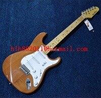 Neue Große John einzelne welle e-gitarre in natur mit erle korpus + EMS geben verschiffen F-3390