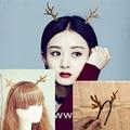 Hermana suave headwear cos new de la manera coreana linda chica dulce cuerno de ciervo de navidad alces ears hairband accesorio del pelo para las mujeres