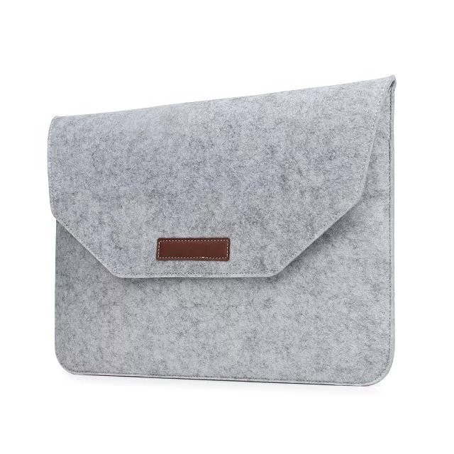New Soft Sleeve Bag For Macbook Pro 13 2018 2016 A1706 A1989 Laptop Sleeve Cover Wool Felt Pouch For Mac book Pro 13 Felt Case image
