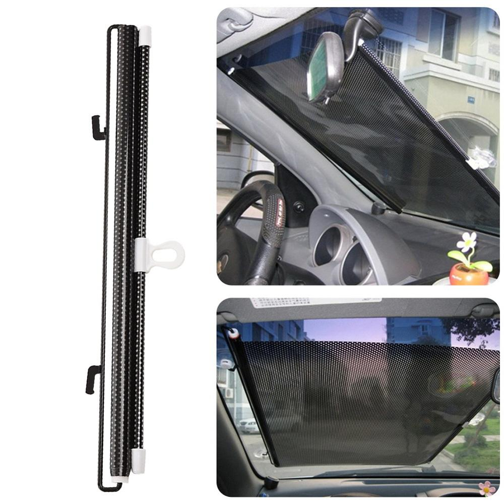1PC 40*125 Auto Retractable Side Window Car Sun Shade