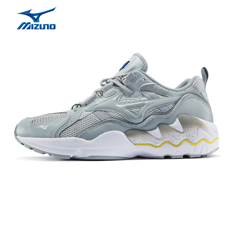 MIZUNO Men WAVE RIDER 1 Running Shoes Version Sneakers Cushion Vintage Tribute Classic Shoes Running Shoes D1GA182603 XYP802 цена