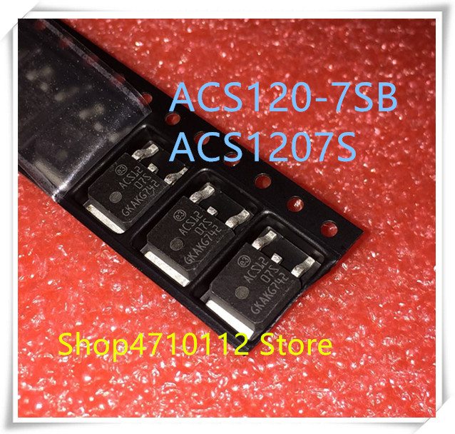 NEW 10PCS/LOT ACS1207S ACS120-7SB ACS12 07S TO-252 IC