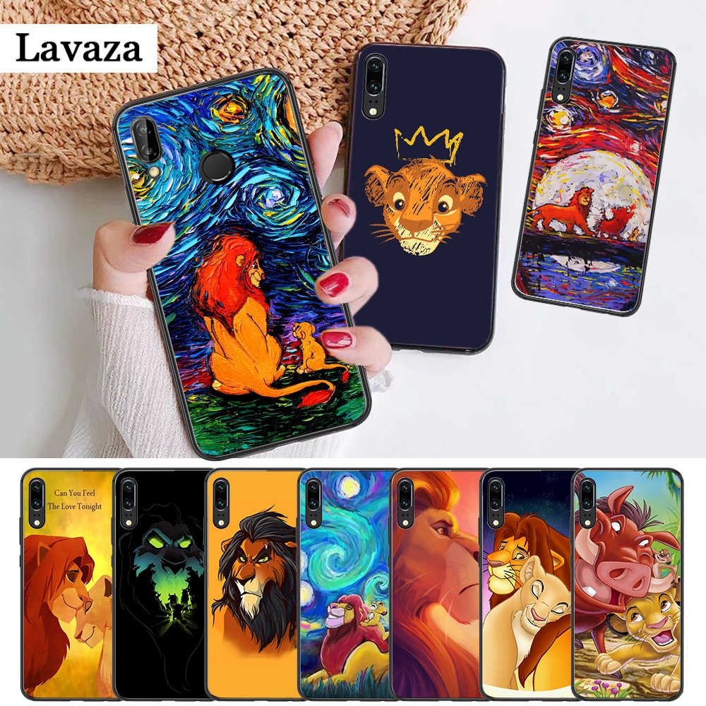 Lavaza Cartoon Movie Lion King Silicone Case for Huawei P8 Lite 2015 2017 P9 2016 Mimi P10 P20 Pro P Smart Z 2019 P30