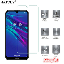 2Pcs Glass Huawei Honor 8A Screen Protector for Tempered Full Glue Protective Phone Film