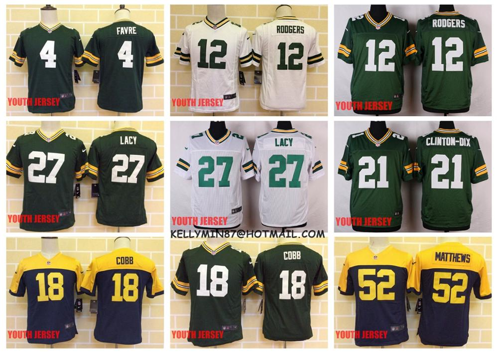 WOMEN Green Bay Packers Randall Cobb Jerseys