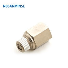Free Shipping 10Pcs / Lot PCVF Pneumatic Check Valve Fittings Pneumatic Air One Way Non Return Valves Brass Thread Sanmin стоимость