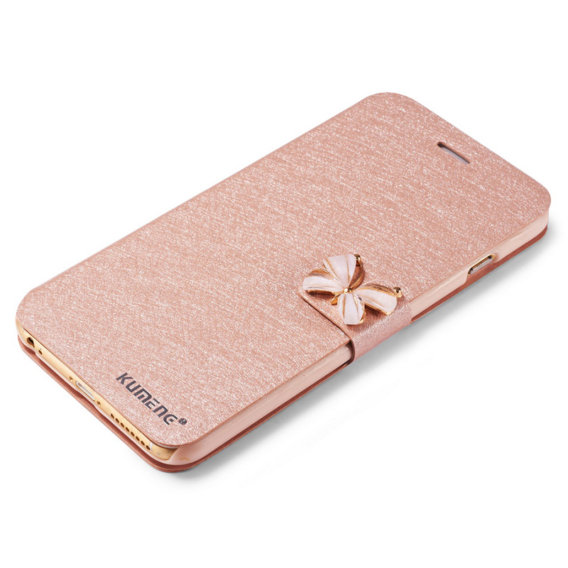 Flip Leather Case For iPhone