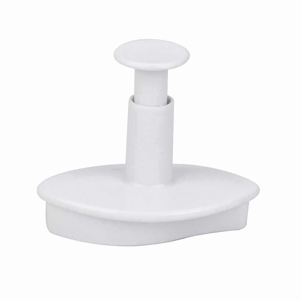 2 Pcs Ukuran Kecil Berurat Lily Bunga Kue Fondant Cookie Dekorasi Plunger Cetakan Tray Kue Cetakan Dekorasi Alat Baru #80