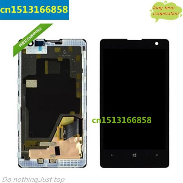HK 100% Tested Original for for Nokia Lumia 800 LCD Screen and Digitizer Assembly with Frame Replacement
