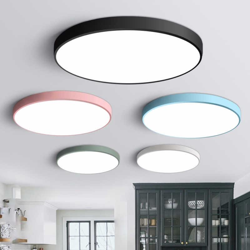 Oświetlenie sufitowe LED nowoczesna oprawa oświetleniowa