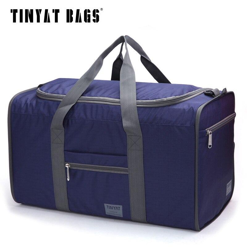 Tinyat Hombres Hombres Bolsa de Viaje Bolsa Plegable Protable Molle - Bolsas para equipaje y viajes - foto 5