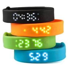 2016 многоцветный оригинальный A6 Smart Браслет Интеллектуальный шагомер часы монитор сна времени будильника фитнес-трекер умный Браслет