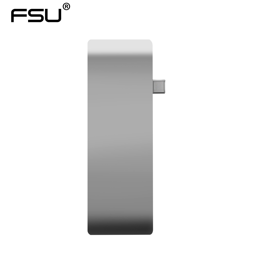 USB C Thunderbolt 3 Type-c Hub HDMI Adapter 4k USB c 3 0 Charging to Card  Reader for New Macbook Chromebook Pixel Surface Pro 4
