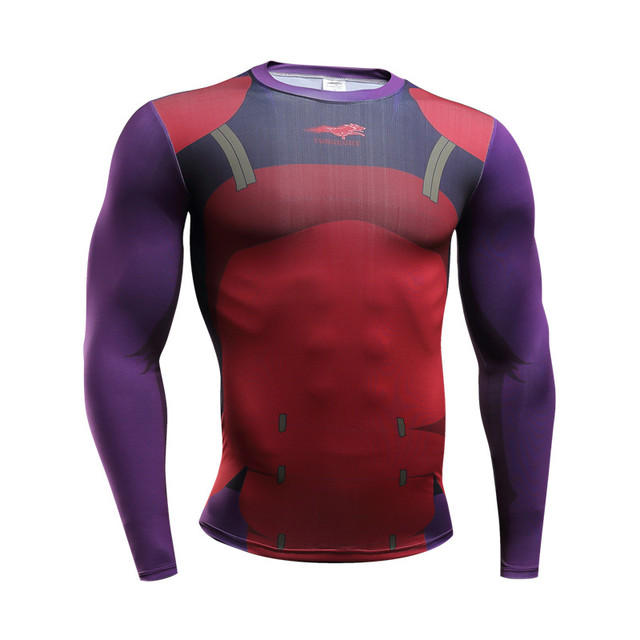 Naruto Bodybuilding Long Sleeve 3d T shirt