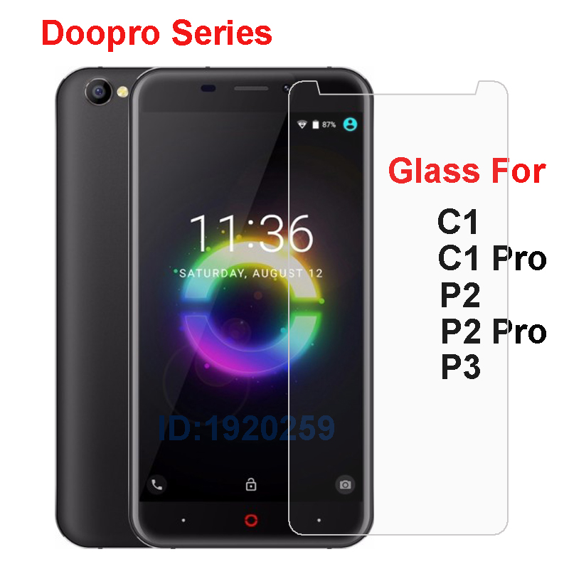 Doopro C1 P2 <font><b>P3</b></font> <font><b>Pro</b></font> Tempered Glass 9H High Quality Protective Film Explosion-proof Screen Protector For Doopro C1 P2 <font><b>P3</b></font> <font><b>Pro</b></font> image