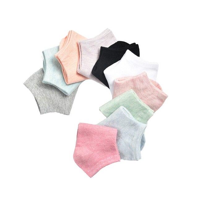 SOFIBERY Women's Socks Casual Breathable Comfortable Cotton Socks Fashion Boat Socks SK4