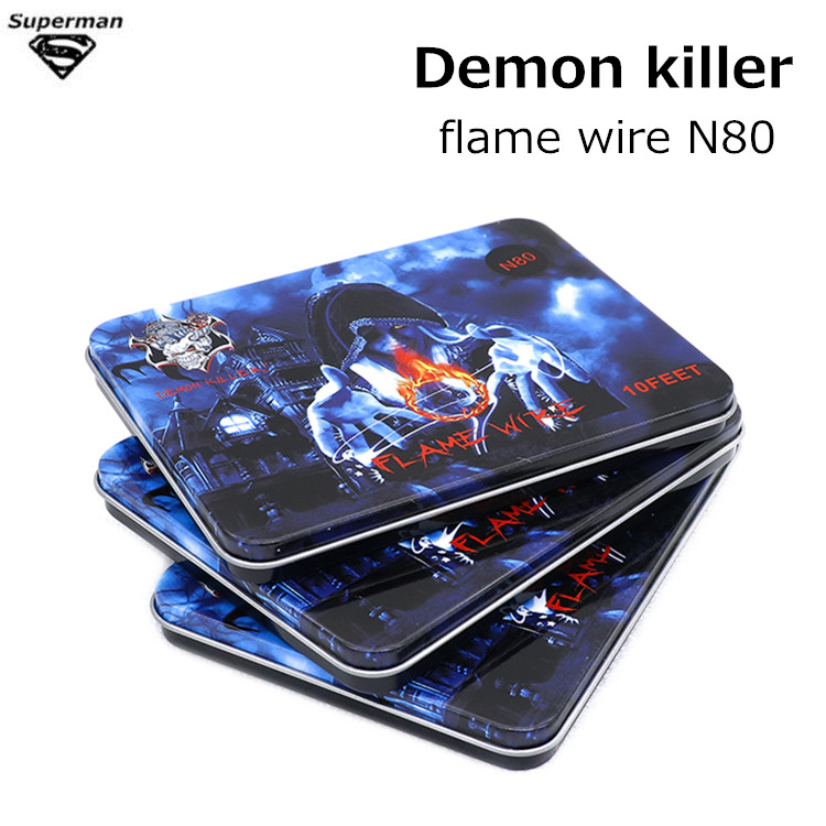 Original Demon Killer Flame <font><b>Wire</b></font> <font><b>N80</b></font> SS316 Flame <font><b>wire</b></font> 316L 10Feet electronic cigarette accessory for RDA RDTA tank Atomizer image