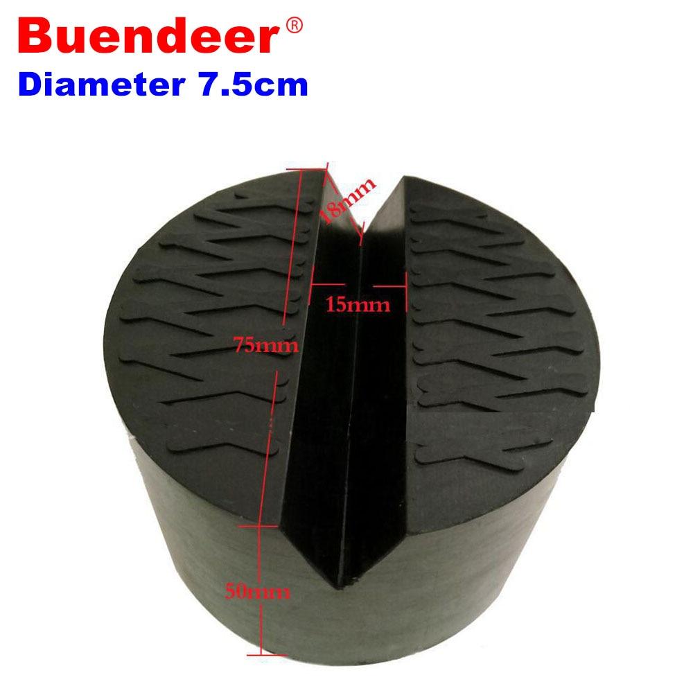 7,5*5 cm Gummi Auto Jack Pad Adapter lift wagenheber Disk Schlitz ...