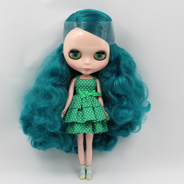 Fortune Days Nude Blyth Doll No Bl4302 Emerald Green Hair Without