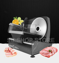 MINI electric meat slicer mutton roll frozen beef cutter lamb Vegetable cutting machine stainless steel mincer commercial household manual meat slicer lamb beef meatloaf frozen meat cutting machine vegetable mutton rolls hand mincer cutter