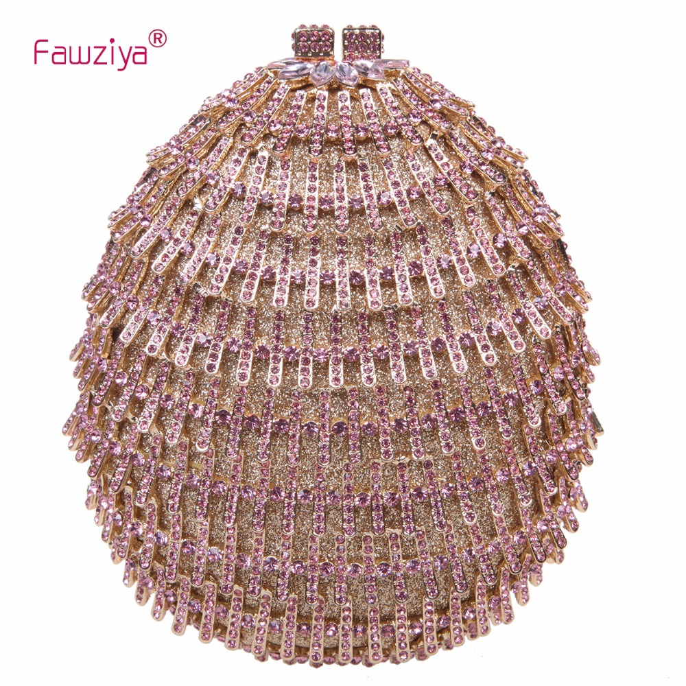 Fawziya Bags Mini Crystal Clutch Bags For Evening Bags And Clutches Purses fawziya evening bags kisslock purses hard case clutch evening party bags