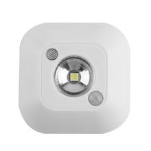 lamp with motion sensor wireless wall led pir Mini Wireless Ceiling Night Light Porch lamps Intelligent Human Body Motion new