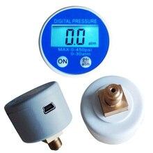 40mm 450psi Digital Pressure Gauge With USB Battery Supply