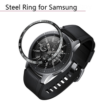 лучшая цена Dial Rim Frontier Sleeve Cover for Samsung Galaxy Watch 42 46MM Anti Scratch Stainless Steel Dial Steel Ring Smart Watch Parts