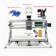 CNC 3018 PRO 5500mw laser CNC engraving machine Disassembled pack DIY mini cnc router with GRBL