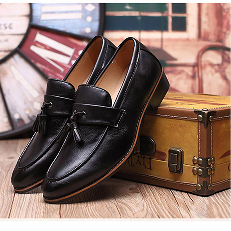 Hommes Luxe Black 68 red yellow Sociaux En Chaussures Mode Taille MarqueMx8118266 28 De Grande Cuir NZ8wOPXk0n