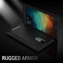 Case For Xiaomi Redmi Note 3/Note 3 Pro Mobile Phone Bag Carbon Fibre Brushed TPU Phone Cases for Xiaomi Redmi Note 3(China)