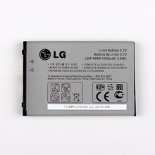 Original LGIP-400N Battery for LG OPTIMUS M/C/U/V/T/S/1 VM670 LS670 MS690 P500 P509 P503 P520 1500mAh