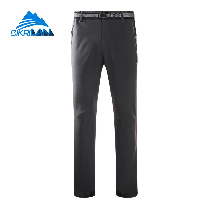 Mens Windbreaker Water Resistant Climbing Trousers Softshell Outdoor Sport Camping Hiking Pants Men Trekking Pantalones Hombre