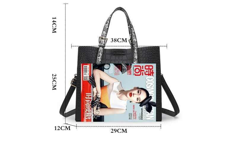 Сумка из натуральной кожи Красная крокодиловая лакированная кожаная сумка-тоут женские сумки роскошные женские сумки дизайнерские сумки через плечо C825