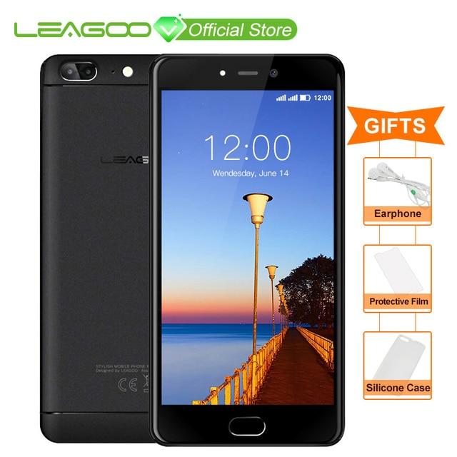 LEAGOO T5 Android 7,0 5,5 дюймовый смартфон FHD 4G B Оперативная память 6 4G B Встроенная память mtk6750t восемь ядер 13MP двойной сзади камеры отпечатков пальцев 4G мобильный телефон
