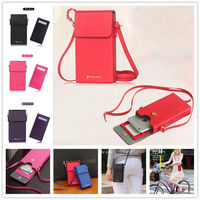Universal Leather Handbag Shoulder Bag Strap Neck Wallet Pouch Purse Case Cover For Samsung Galaxy S3