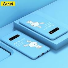 Купить с кэшбэком For Samsung Galaxy S10 Plus Case 3D Cartoon PC Cover Phone Case For Samsung Galaxy S8 S9 Plus S10 S10E A7 A9 2018 A50 A30 Coque