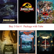 Jurassic Park Posters White Coated Paper Prints Modern Style Wall Stickers Home Decoration Art Brand