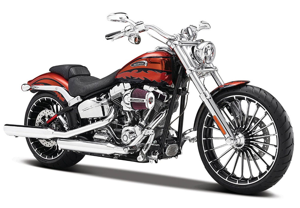 Maisto 1 12 Harley 32327 2014 CVO BREAKOUT MOTORCYCLE BIKE Model FREE SHIPPING