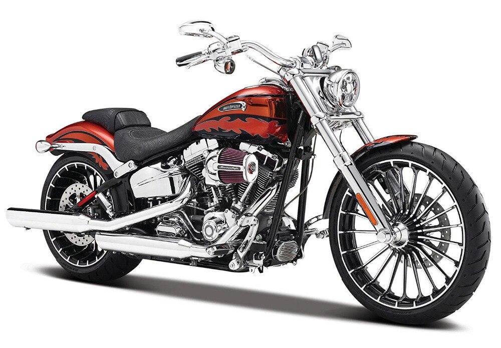 Maisto 1:12 Harley 32327 2014 CVO BREAKOUT MOTORCYCLE BIKE Model FREE SHIPPING