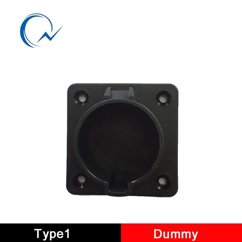 SAE J1772 Type1 AC Dummy Socket Holder For EV Charger Station Level 1 Level 2 US Holder Connector
