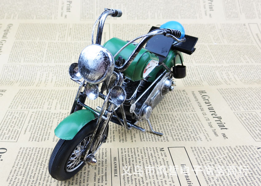 US $24 5  Antique metal complex Guha Lei motorcycle model Zakka groceries  Bar Cafe personality ornaments home accessories collection UK on