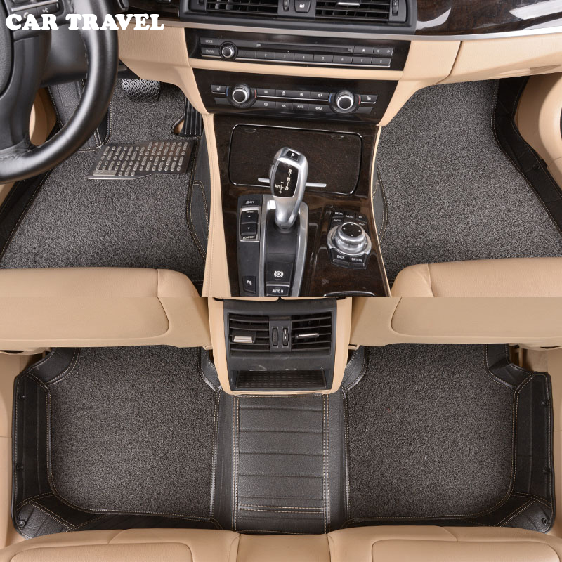 Custom car floor mats for Subaru all model forester BRZ Outback Tribeca heritage xv impreza Forester car styling auto floor mat special car trunk mats for toyota all models corolla camry rav4 auris prius yalis avensis 2014 accessories car styling auto